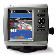 GARMIN GPSMAP 546s with transducer
