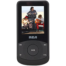 RCA 4GB 1.8in Video MP3 Player