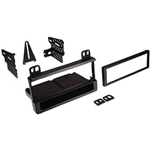 BEST KITS AND HARNESSES In-Dash Installation Kit (Ford/Lincoln/Mercury 1995-2012 Single-DIN with Pocket)