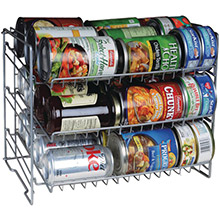 ATLANTIC Canrack (Single, 3 Tier)