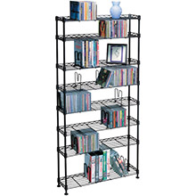 ATLANTIC Multimedia Storage Rack (8 shelves)