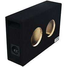 ATREND BBox Series 6.5in Dual Shallow Hyper Vented Enclosure