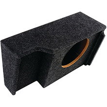 ATREND BBox Series Subwoofer Box for GM Vehicles (10in Single Downfire, GM Ext Cab)