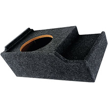 ATREND BBox Series Subwoofer Box for GM Vehicles (12in Single Downfire)