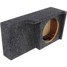 ATREND BBox Series 10in Subwoofer Box for Ford Vehicles (Single Downfire)