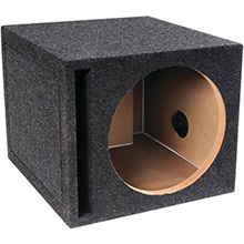ATREND BBox Series Single Vented Subwoofer Enclosure (12in)