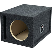 ATREND BBox Series Single Vented Subwoofer Enclosure (8in)