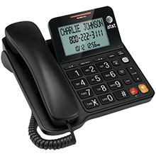 AT&T Corded Speakerphone with Large Display