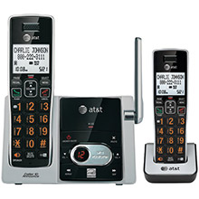 AT&T Cordless Answering System with Caller ID/Call Waiting (2-handset system)