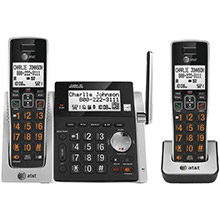 AT&T Cordless Answering System with Dual Caller ID/Call Waiting (2-handset system)