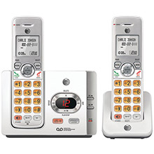 AT&T DECT 6.0 Cordless Answering System with Caller ID/Call Waiting (2 Handsets)