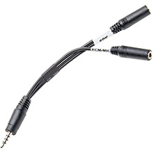 AZDEN i-Coustics TRRS Audio Adapter Cable for Smartphones, Tablets
