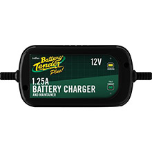 BATTERY TENDER 12-Volt 1.25-Amp Plus High Efficiency