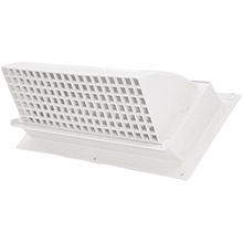 BUILDERS BEST Nemco WC310 Heavy-Duty Plastic Range Hood Vent (White)