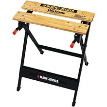 BLACK & DECKER Workmate Portable Project Center, Vise (350lbs capacity)