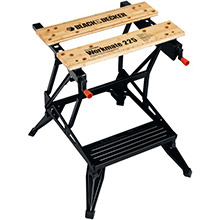 BLACK & DECKER Workmate Portable Project Center, Vise (450lbs capacity)