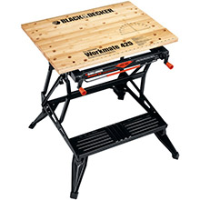 BLACK & DECKER Workmate Portable Project Center, Vise (550lbs capacity)