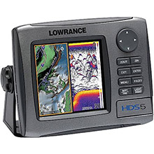 LOWRANCE HDS 5 Lake Insight with StructureScan Sonar Bundle