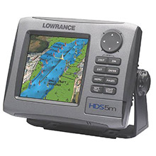LOWRANCE HDS 5M Nautic Insight Chartplotter with Coastal Data