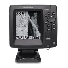 HUMMINBIRD 581i HD DI Combination Fishfinder and Chartplotter