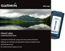 Inland Lakes on Garmin Datacard