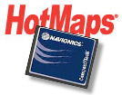 Hotmaps Lake Maps on Compact Flash