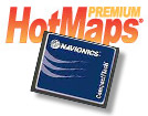 Hotmaps Premium Lake Maps on Compact Flash