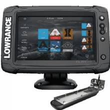 LOWRANCE Elite-7 TI2, Nav plus US/Can, 3in1 Transducer