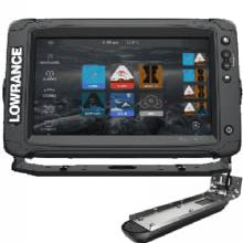 LOWRANCE Elite-9 TI2, US Inland, 3in1 Transducer