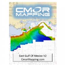 CMOR MAPPING E GULF OF MEXICO F and SIMRAD LOWRANCE MERCURY