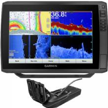 GARMIN ECHOMAP Ultra 126sv with g3 charts and GT54UHD-TM Transducer