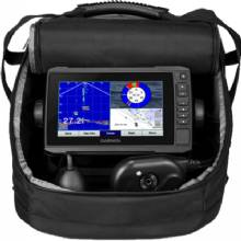 GARMIN EchoMap plus 73cv, CHIRP-H, Ice Fishing Canada maps