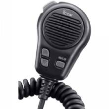 Icom Microphone w/ plug, for m504/604, black