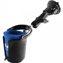 RAM Ram cup holder w/ suction cup base