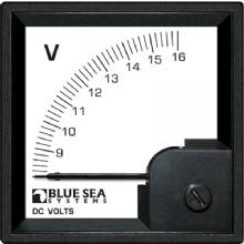 BLUE SEA Din voltmeter dc 8-16v