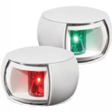 HELLA Nav light led, pair, 2nm, clear lens, wh