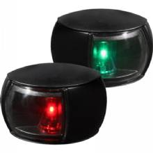 HELLA Nav light led, pair, 2nm, clear lens, bk