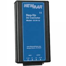 NEWMAR Converter, step-up, 12 to 24 vdc, 16a