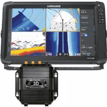 LOWRANCE HDS-16 Carbon C-Map US 3D bundle