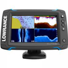 LOWRANCE Elite-7 Ti Touch Insight Pro with TotalScan Transducer