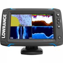 LOWRANCE Elite-7 Ti Touch C-Map Pro with Med/High/LSS-HD