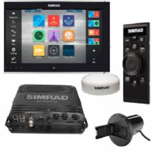 SIMRAD MFD, NSO evo2 16 Touch Bundle, Single