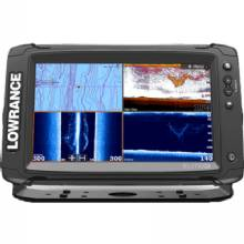 LOWRANCE Elite-9 Ti Touch  C-Map Pro with Mid/High/LSS-HD