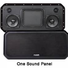 FUSION RV-FS402B Sound Panel, 2 Channel, Black