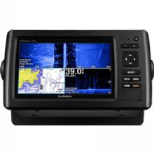 GARMIN EchoMAP CHIRP 75sv with ClearVu and SideVu Transducer and LakeVu HD maps for Canada