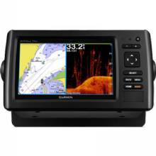 GARMIN echoMAP CHIRP 75cv with ClearVu Transducer and LakeVu HD maps for Canada