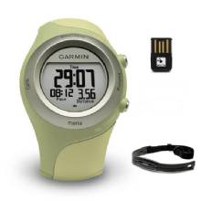 GARMIN Forerunner 405 Green with USB ANT stick and Heart Rate Monitor