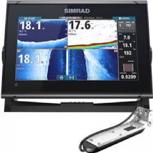 SIMRAD GO9 XSE, C-Map US, TotalScan