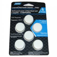 CAMCO Livewell/Baitwell Cleaning Tablets - 6-Pack