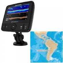 RAYMARINE Dragonfly 7 PRO Combo - Transom Mount Transducer w/Navionics plus Caribbean South America Chart